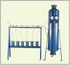 Cement Mortar Permeability Apparatus (Six Cell Model)